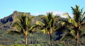 Sleeping Giant, Kauai — Stock Photo