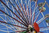 A big wheel at a fair — Stock Photo
