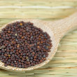 Royalty-Free Stock Photo: Brown mustard seeds