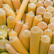 Royalty-Free Stock Photo: Beeswax candles