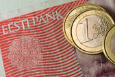 Estonia and the Euro — Stock Photo