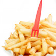 Crispy French Fries — Stok fotoğraf