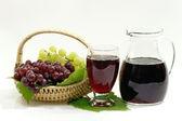 Red Grape Juice — Stock Photo