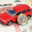 Stock Photo: Car financing