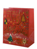 Chrismas paper bag — Stock Photo