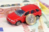 Car financing — Stock Photo
