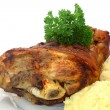 Bavarian knuckle of pork — Foto Stock