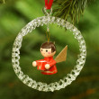 Stock Photo: Chrismas angel
