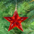 Christmas tree decoration — Foto de stock #1553553