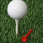 Golf ball — Stock Photo #1553858