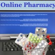 Royalty-Free Stock Photo: Online pharmacy