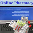 Stock Photo: Online pharmacy