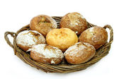 Rye bread rolls — Stock Photo