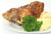 Bavarian knuckle of pork — Stock Photo