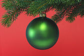 Chrismas ball — Stock Photo