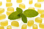 Lemon wine gums — Stock Photo