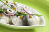 Rolled herring — Stock Photo