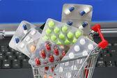 Online pharmacy — Stock Photo
