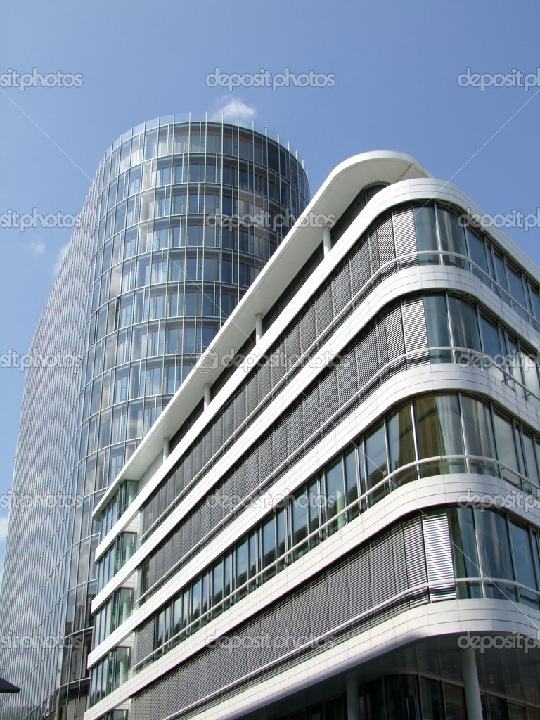 Modern architecture with glass windows — Stock Photo #1556172