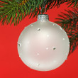 Foto Stock: Chrismas ball