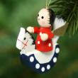 Chrismas angel — Stock Photo