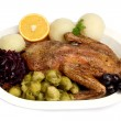 Duck dinner_2 — Stock Photo