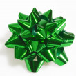 Green gift loop — Stock Photo