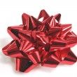 Stock Photo: Red gift loop