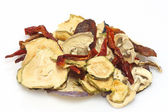 Dried vegeables — Stock Photo