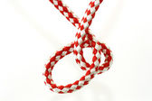 Red and white Rope — Stock Photo