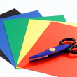 Construction paper — Stock Photo