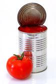 Peeled Tomatoes — Stock Photo