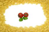 Spaghetti Frame — Stock Photo