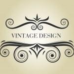 Vintage frame — Stock Vector #1958039