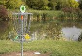 Frisbee Golf Target — Stock Photo