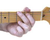 G Major Guitar Chord — Stock Photo