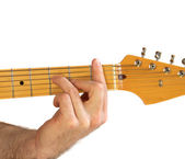 Guitar F Chord — Stock Photo