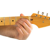 Guitar A Chord — Stock Photo