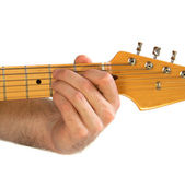 Guitar Chord Bm — Stock Photo
