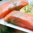 Royalty-Free Stock Photo: Fresh salmon fish