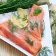 Fresh salmon fish — Stock Photo #1568858