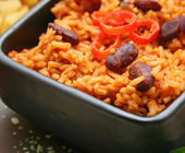 Mexican rice — Stock Photo