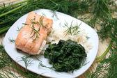 Fresh meal — Stock Photo