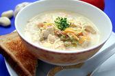 Fresh soup — Stock Photo