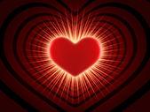 Günü sevgililer günü kartı — Stok fotoğraf