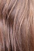 Closeup of female hair — Stock Photo