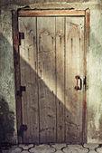 Old wooden door — Stock Photo