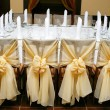 Wedding decoration of a table — Stock Photo #1541329