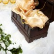 Stock Photo: Money box on wedding table