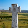 Old Christian stone cross — Stock Photo #1545607